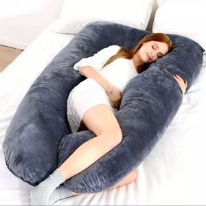 Brand new U Shape Pregnancy Pillow (Grey)